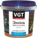 Эмаль VGT ВД-АК-1179 Универсальная Металлик (1кг, гранат) -