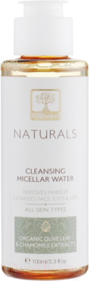 Мицеллярная вода BIOselect Naturals Cleansing Micellar Water С конопляным маслом (100мл)