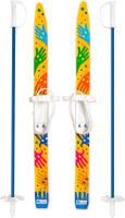 Комплект беговых лыж Цикл Лыжики пыжики Ручки с палками -