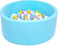 Игровой сухой бассейн Babymix M/B-MM-SS-ZH (200 шариков) -