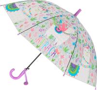 Зонт-трость Михи Михи Альпака с 3D эффектом / MM07465 (фиолетовый) -