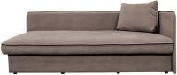 Тахта Lama мебель Лиза-2 левый (Amigo Cocoa) -