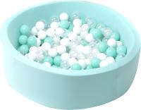 Игровой сухой бассейн Babymix 5М / M/B-P-M (200 шариков) -