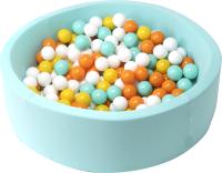 Игровой сухой бассейн Babymix 8М / M/B-ZH-OR-M (200 шариков) -