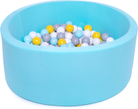 Игровой сухой бассейн Babymix 10М / M/B-SS-ZH-MM (200 шариков) -