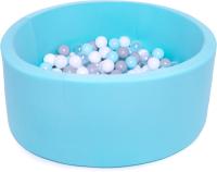 Игровой сухой бассейн Babymix 11М / M/B-SS-P-MM (200 шариков) -