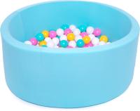 Игровой сухой бассейн Babymix 12М/ M/B-ZH-Y-M (200 шариков) -