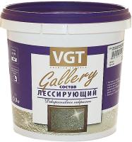 Защитно-декоративный состав VGT Gallery Лессирующий (900г, полупрозрачный бесцветный) -