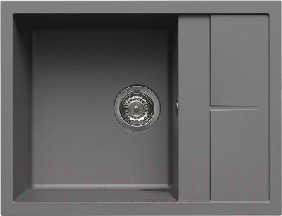 Мойка кухонная Elleci Unico 125 Titanium M73 / LMU12573