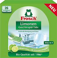 Таблетки для посудомоечных машин Frosch Лимон (26шт) -