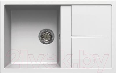 Мойка кухонная Elleci Unico 300 Bianco Titano G68 / LGU30068