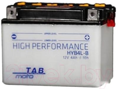 Мотоаккумулятор TAB YB4L-B / 177515 (4 А/ч)