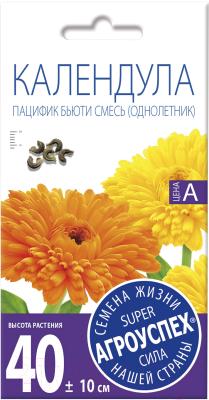 Семена цветов Агро успех Календула Пацифик бьюти смесь