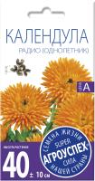 Семена цветов Агро успех Календула Радио (0.5г) -
