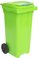 Контейнер для мусора Plastik Gogic 120л (салатовый) -