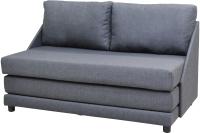 Диван Домовой Барнео 2 (Lux-18 серый) -