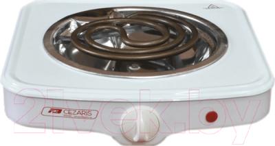 Электрическая настольная плита Cezaris ПЭ Нс 1001-00 плита электрическая gefest пэ 720 белый эмаль настольная