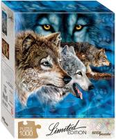Пазл Step Puzzle Найди 12 волков / 79806 (1000эл) -