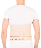 Корсет ортопедический пояснично-крестцовый Trives Т-1559 (XS, бежевый) -
