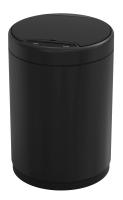 Сенсорное мусорное ведро WeltWasser Kidy BL 9L (черный матовый) -
