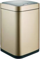 Сенсорное мусорное ведро WeltWasser Rone CG 12L (шампань золото) -