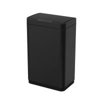 Сенсорное мусорное ведро WeltWasser Vegas BL 12L (черный матовый) -