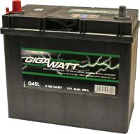 Автомобильный аккумулятор Gigawatt L+ / 0185754557 (45 А/ч) -