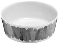 Миска для животных Tarhong Water Color Brush Stroke / PTD3060PBMBS (белый/серый) -
