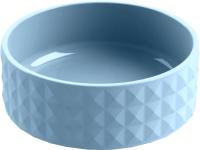 Миска для животных Tarhong Diamond / CPDMBL3053SB (голубой) -
