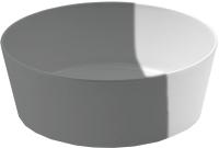 Миска для животных Tarhong Dual / PE20772377 (серый/белый) -