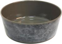 Миска для животных Tarhong Gallery Pewter / PTD3060PBMG (серый камень) -