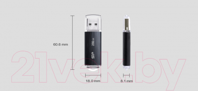 Usb flash накопитель Silicon Power Blaze B02 32GB (SP032GBUF3B02V1K)