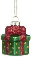 Елочная игрушка Goodwill Подарок / YA 92120-2 (зеленый) -
