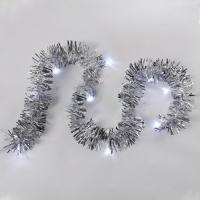 Светодиодная гирлянда Neon-Night Мишура 304-011 (1.5м, белое свечение) -