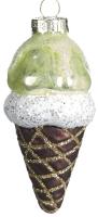 Елочная игрушка Goodwill Мороженое / P 34378-1 (фисташка) -