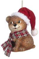 Елочная игрушка Goodwill Мишка в шарфе и шапке / TR 24700 -