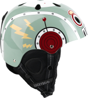 Шлем горнолыжный Luckyboo Play (S, серый) -