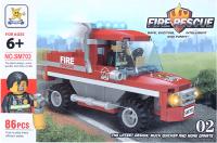 Конструктор Darvish Пожарная служба / DV-T-2244 -