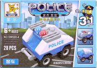 Конструктор Darvish Полиция / DV-T-573 -
