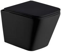 Унитаз подвесной WeltWasser WW Gelbach 004 MT-BL (черный матовый) -
