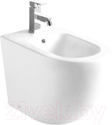 Биде напольное WeltWasser Merzbach 003 MT-WT (белый матовый)