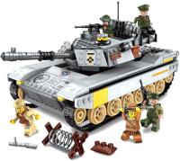 Конструктор Brick Военный танк / 1721 -