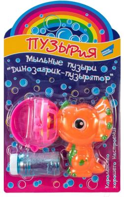 Набор мыльных пузырей Dream Makers Динозаврик-пузырятор / 668-4