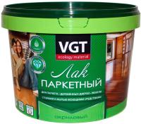 Лак VGT Паркетный (900г, полуматовый) -
