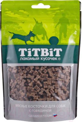 Лакомство для собак, 5 шт. TiTBiT Косточки мясные с говядиной / 12857