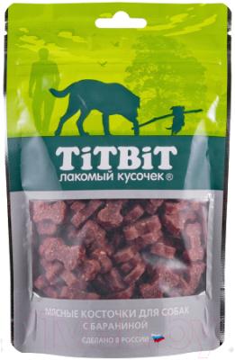 Лакомство для собак, 5 шт. TiTBiT Косточки мясные с бараниной / 12918