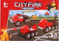 Конструктор Darvish Пожарная техника / DV-T-1128 -