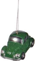 Елочная игрушка Goodwill Машинка зеленая / Q 64220-1 -
