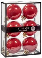 Набор шаров новогодних Goodwill UG 60003 (6шт, алый) -