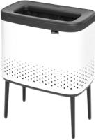 Бак для белья Brabantia Bo Laundry Bin / 200502 (белый/черный) -